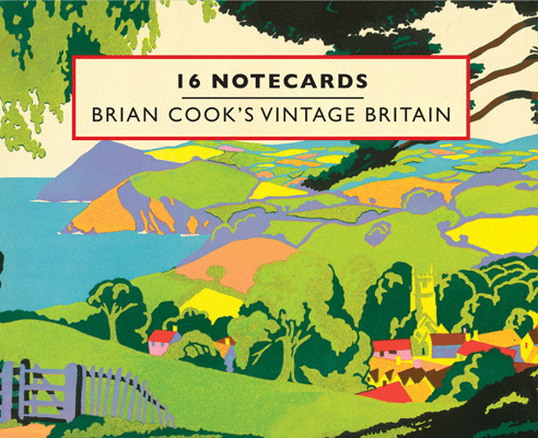 Brian Cook's Vintage Britain – 16 Notecards