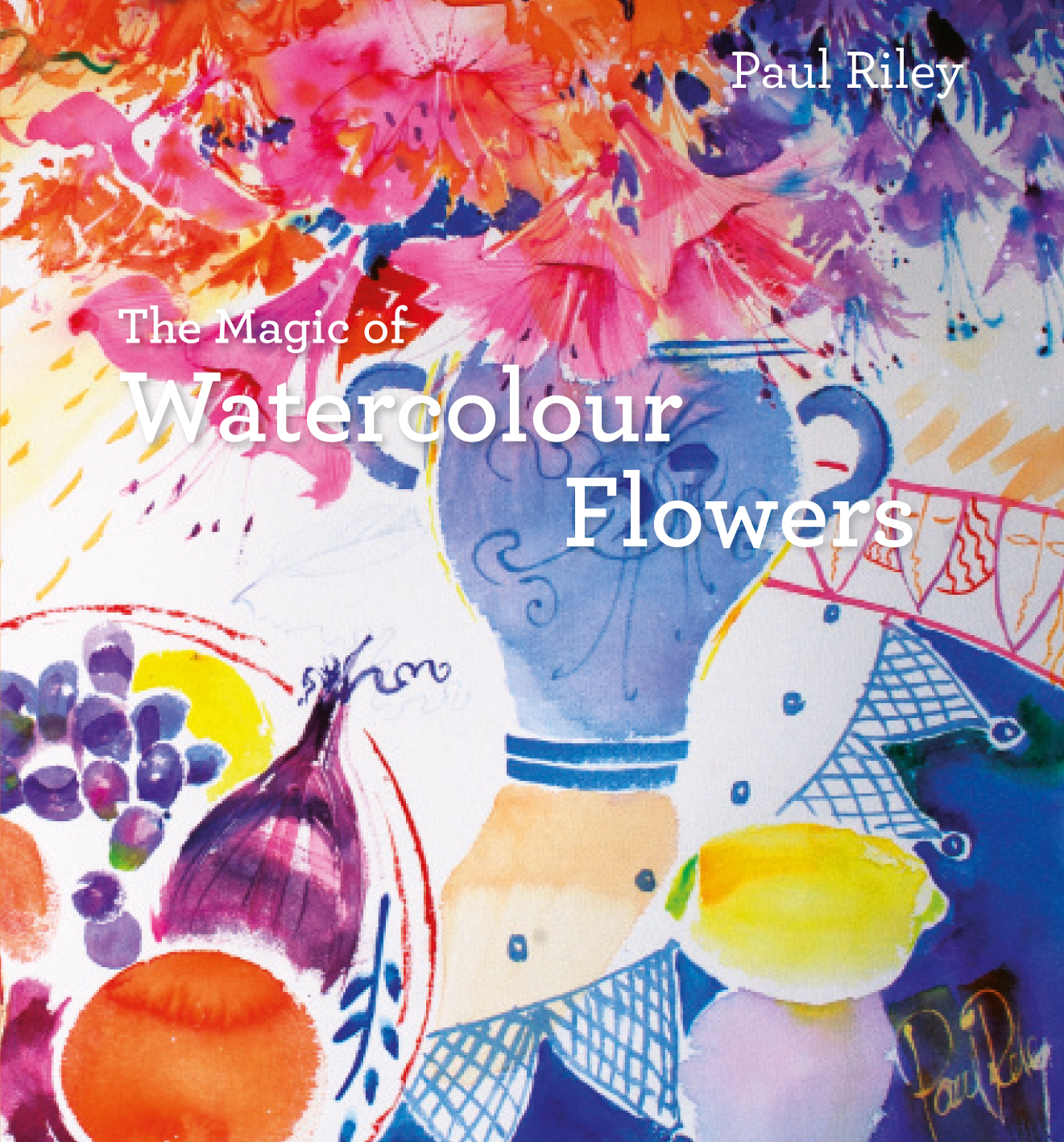 The Magic of Watercolour Flowers