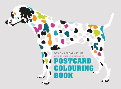 Postcard Colouring Book
