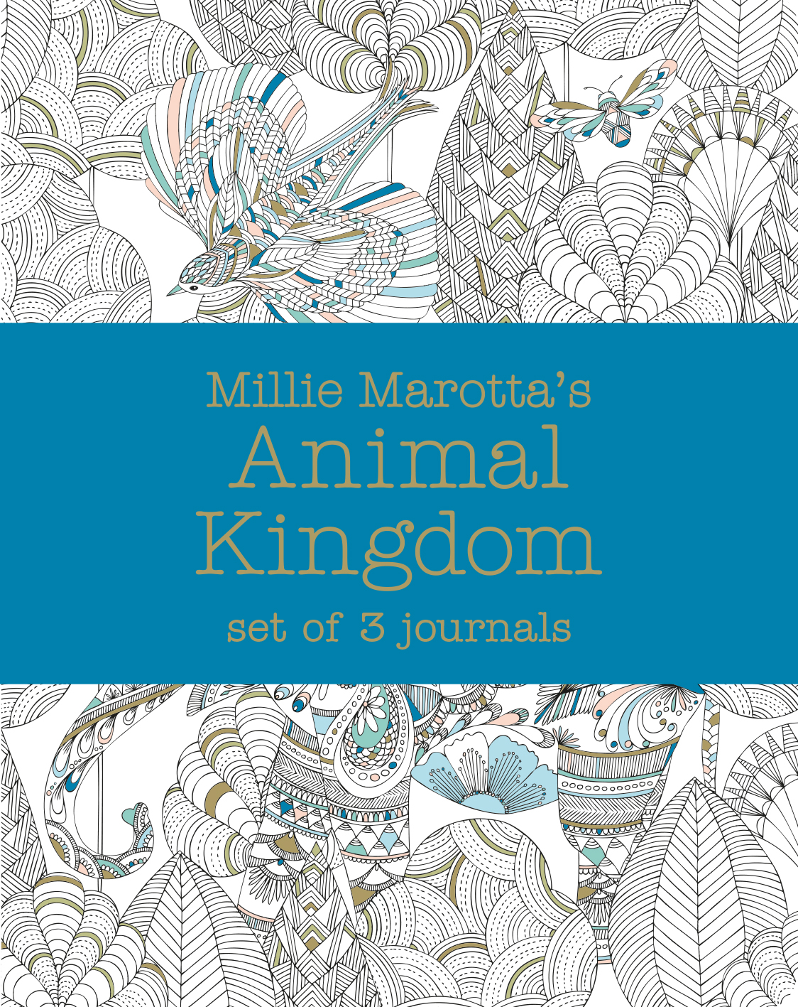 Millie Marotta's Animal Kingdom – journal set