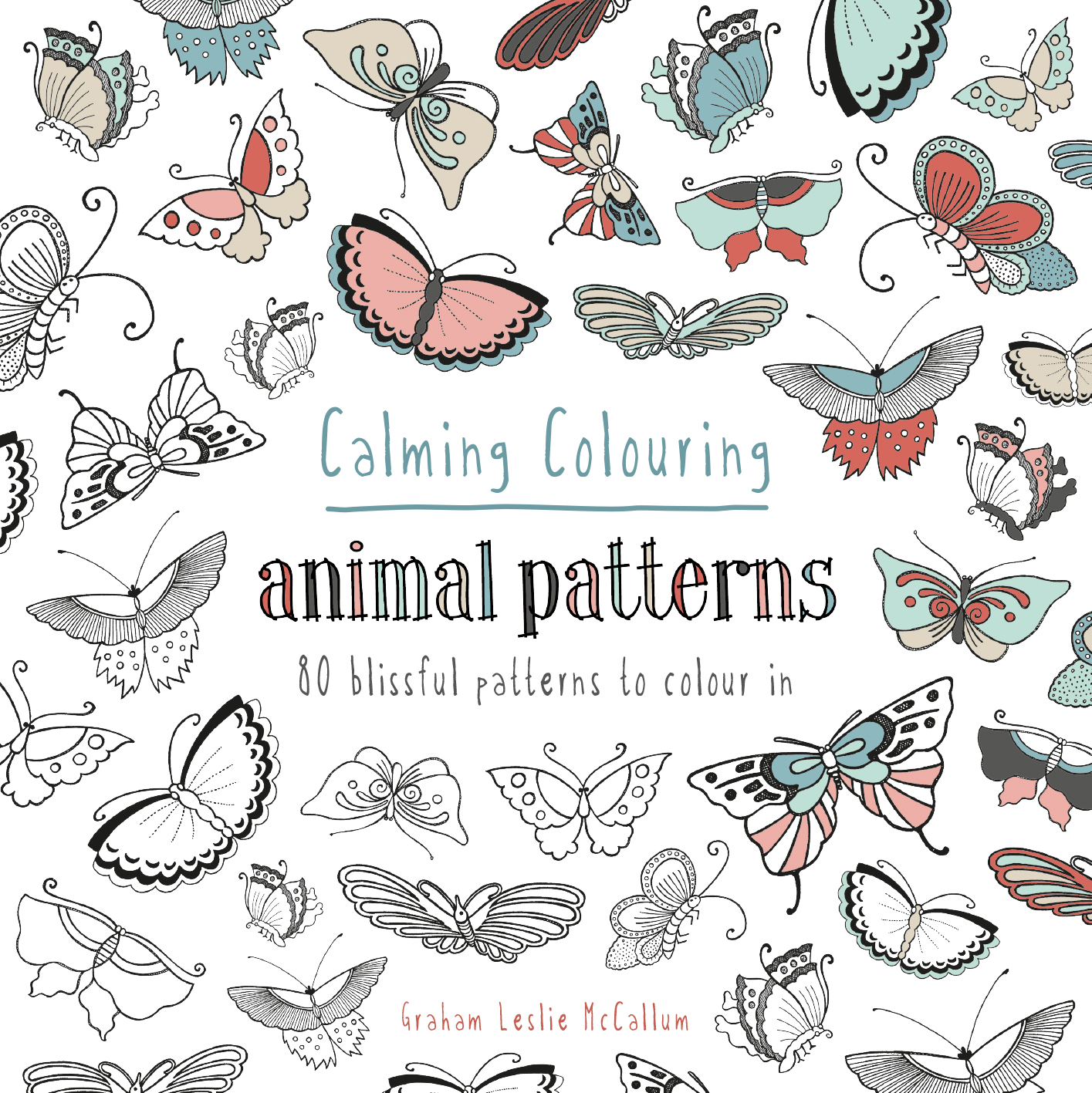 Calming Colouring Animal Patterns