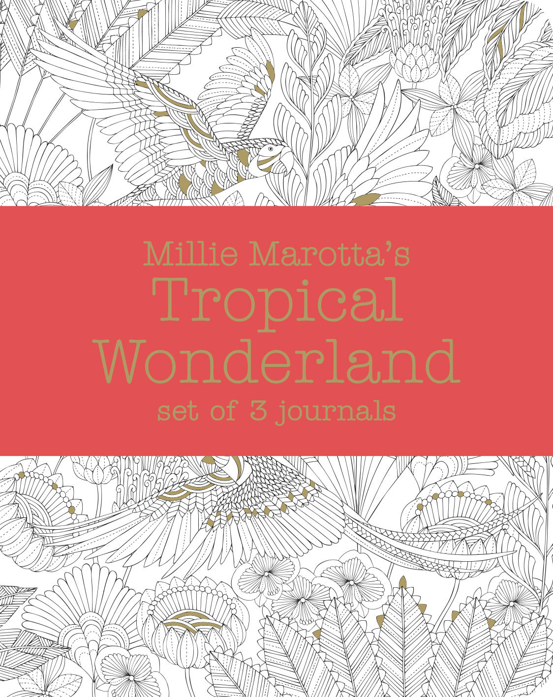 Millie Marotta's Tropical Wonderland – journal set