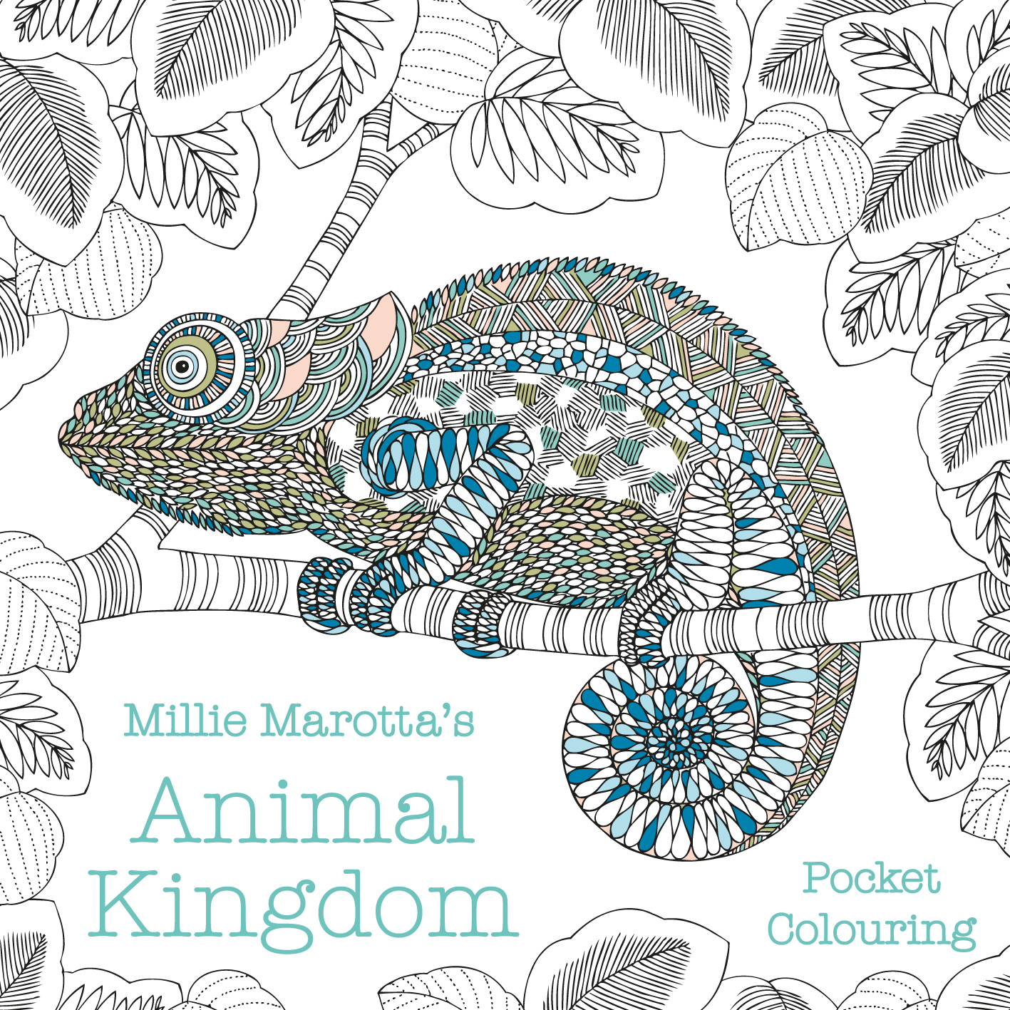 Millie Marotta's Animal Kingdom Pocket Colouring