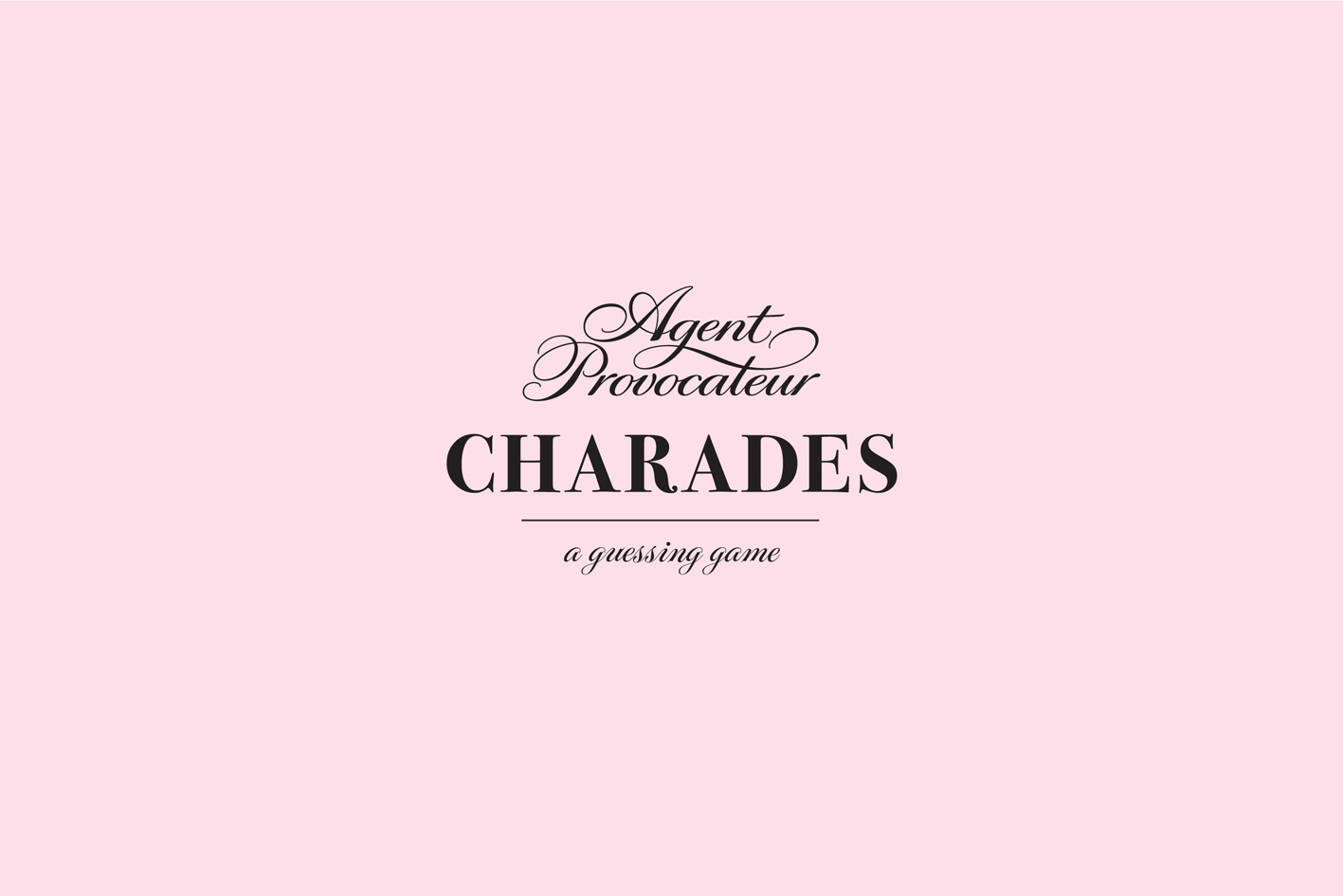 Agent Provocateur: Charades