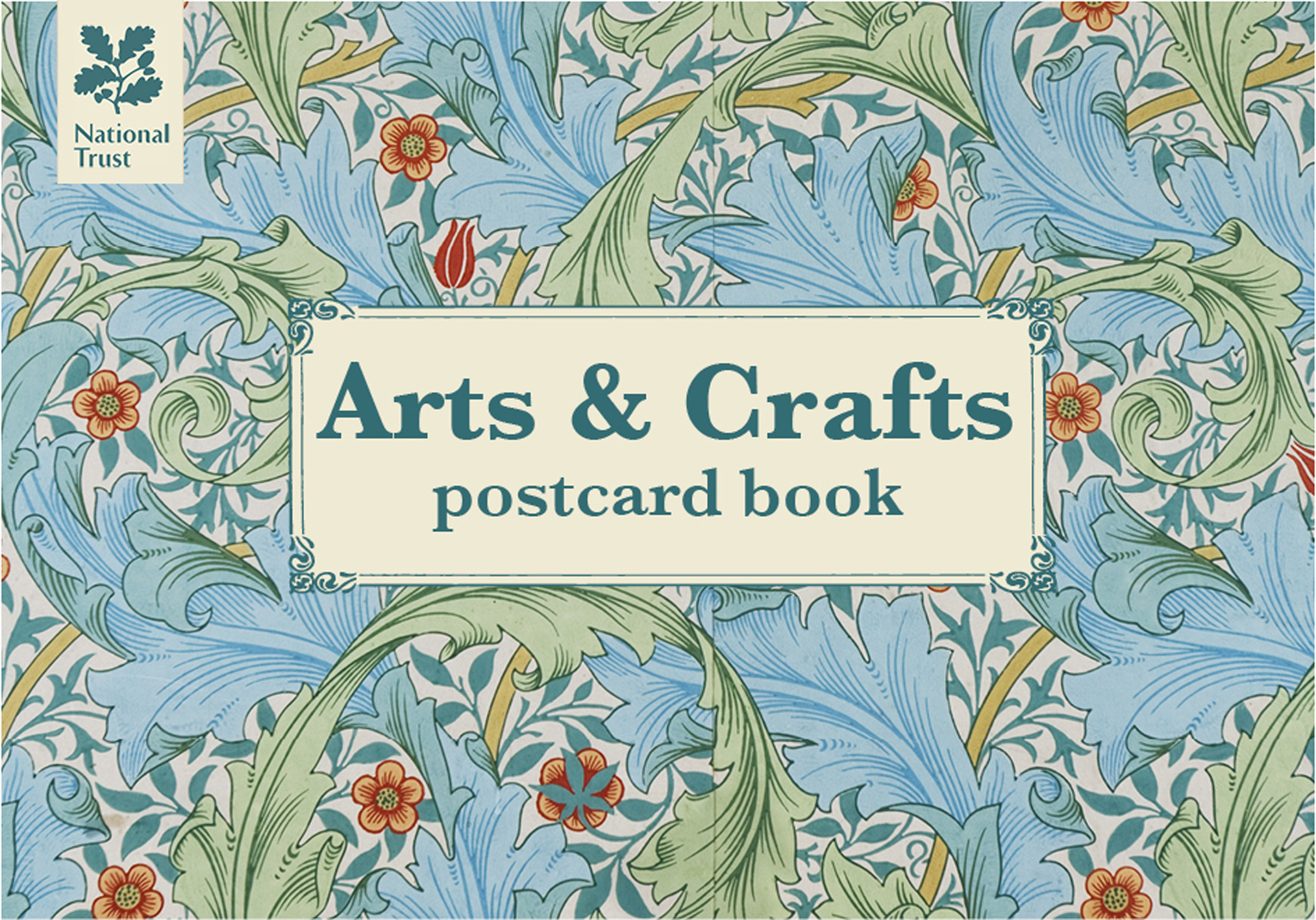 Arts & Crafts Postcard Book