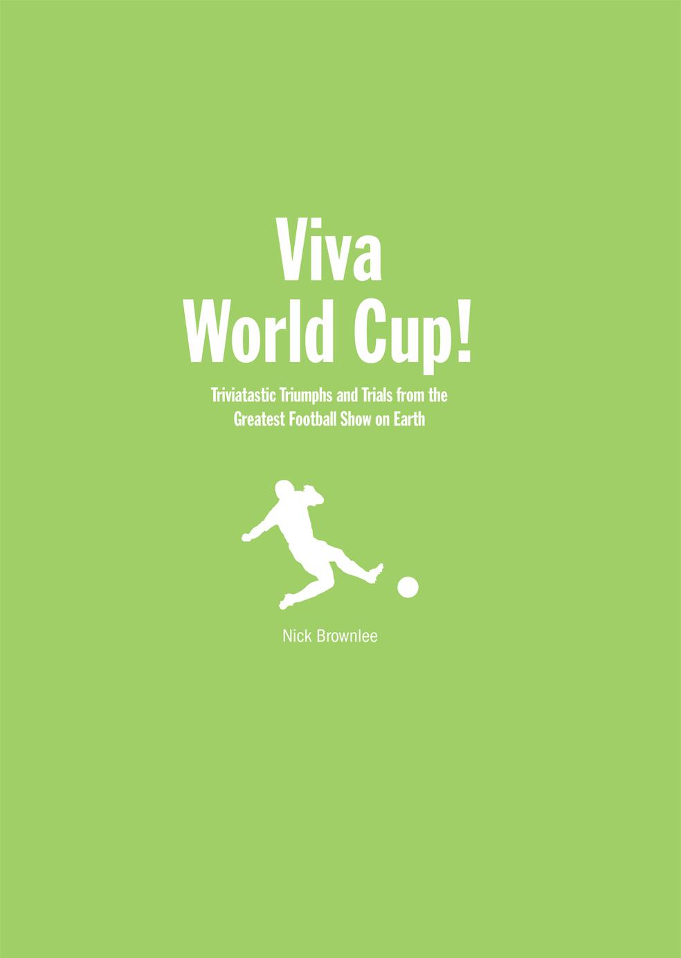 Viva World Cup!