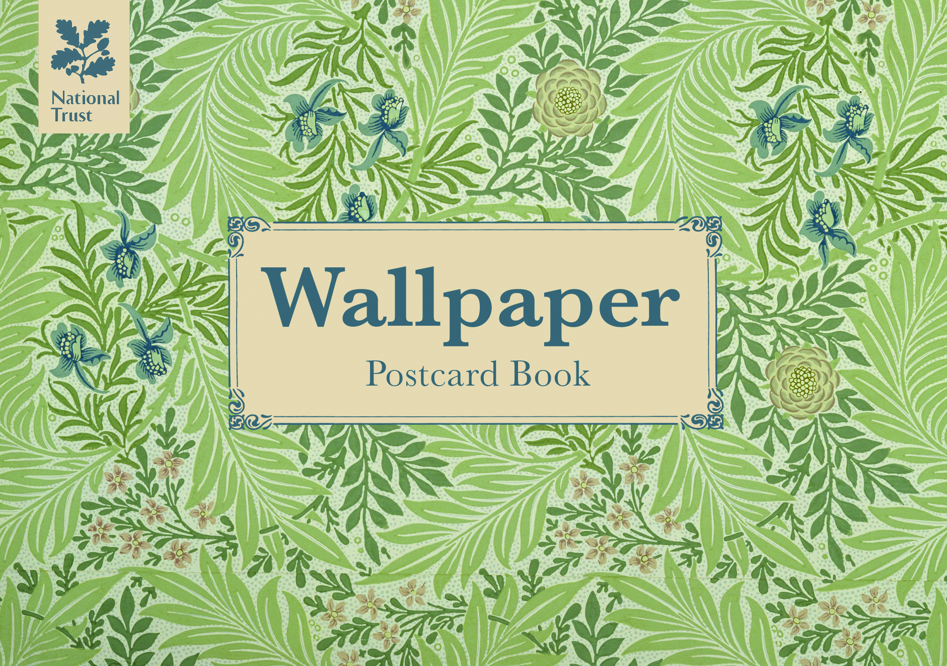 Wallpaper Postcard Book